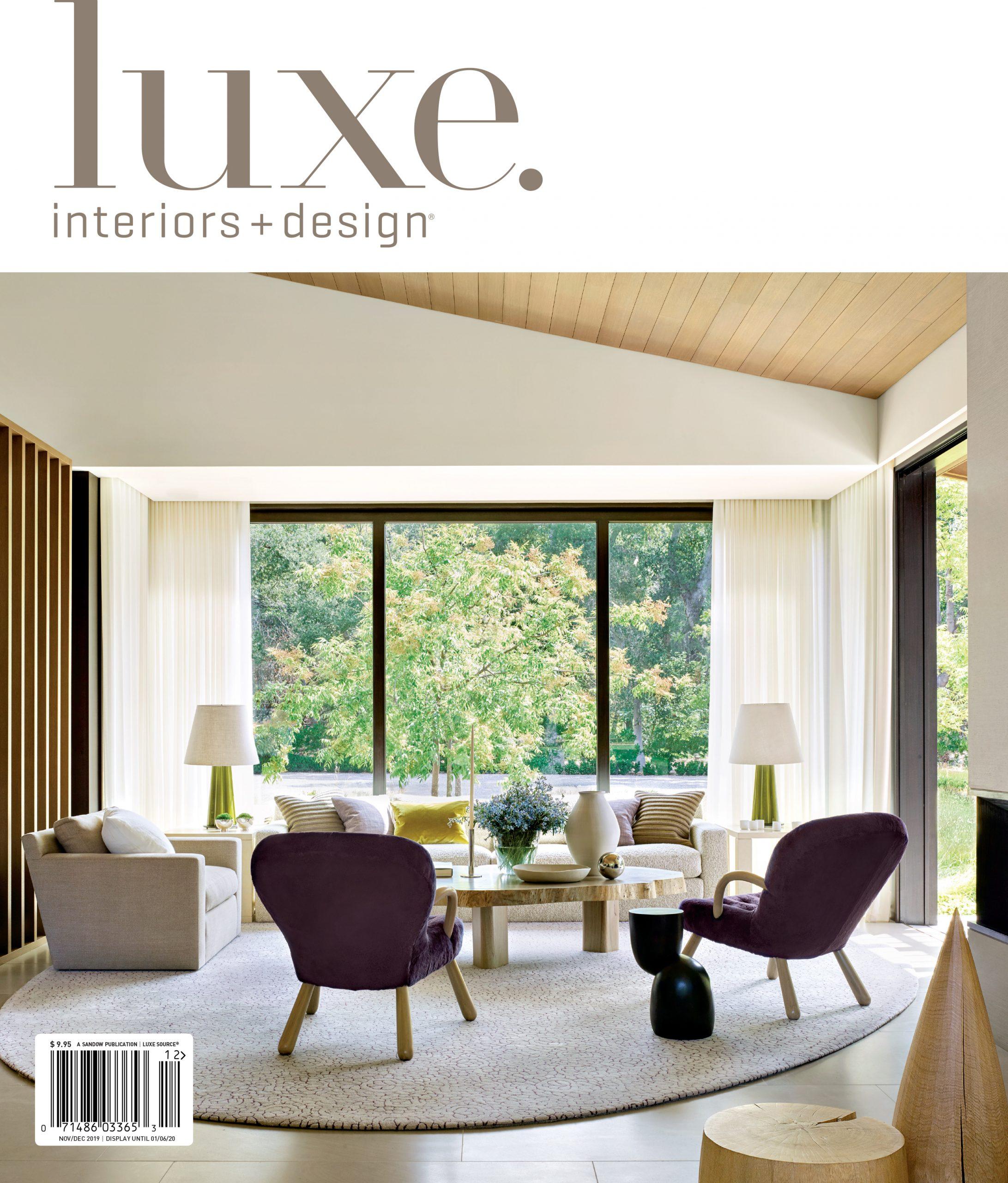 0. NovDec 2019_Luxe Cover